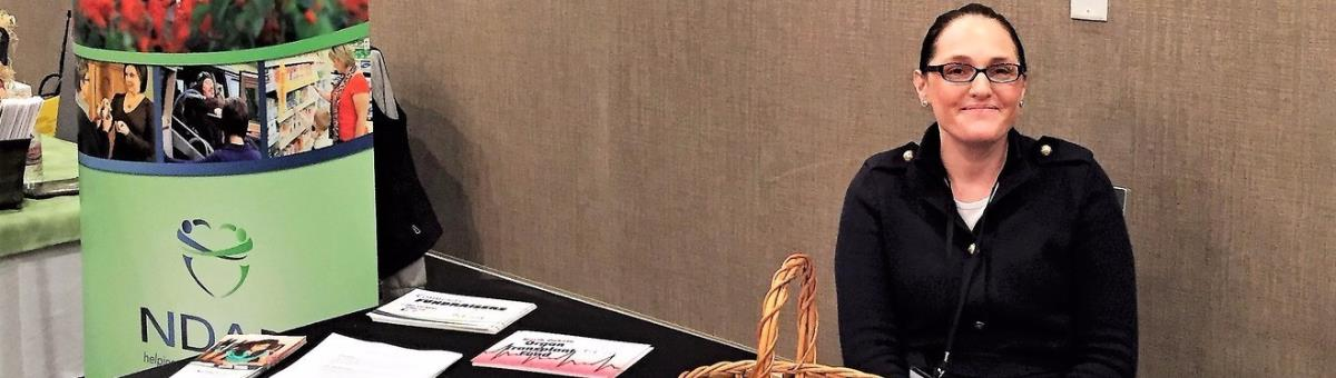 Kim Zeeb of NDAD's Fargo office