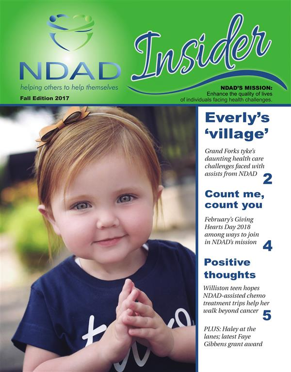 NDAD Insider - Fall 2017 cover