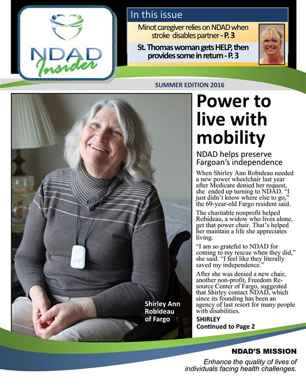 NDAD Insider - Summer 2016 cover