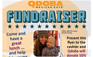 Minot child with leukemia focus of May Qdoba fundraiser