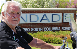 NDAD's president, now a volunteer, is cover subject of new Insider